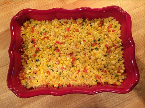 baked corn recipe