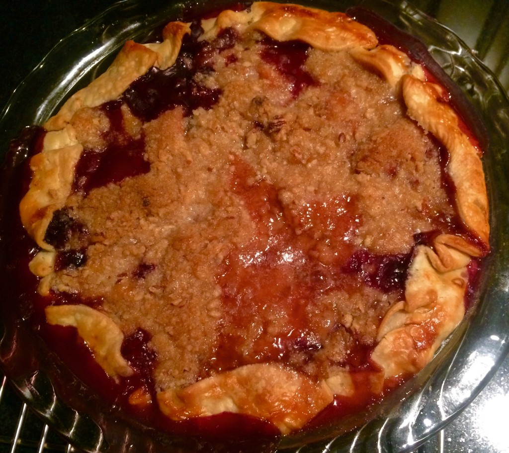 Bodacious Blueberry & Peach Pie