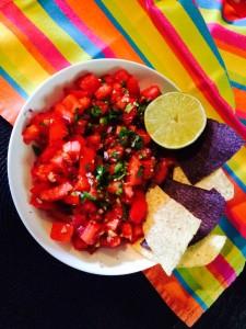 Tomato Salsa Cruda